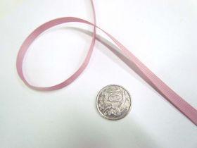 Grosgrain Ribbon 6mm- Cameo Pink