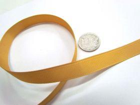 Grosgrain Ribbon 13mm- Gold