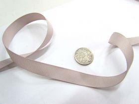 Grosgrain Ribbon 13mm- Stone
