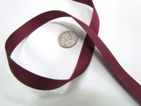 Grosgrain Ribbon 13mm- Burgundy