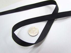 Grosgrain Ribbon 13mm- Black