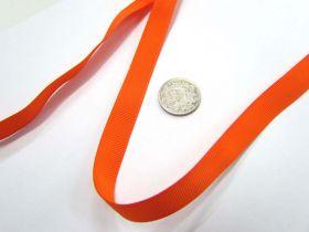 Grosgrain Ribbon 13mm- Orange