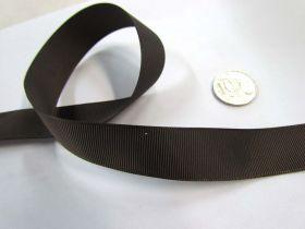 Grosgrain Ribbon 22mm- Brown