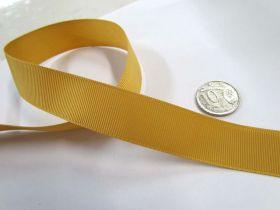 Grosgrain Ribbon 22mm- Gold