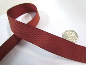 Grosgrain Ribbon 22mm- Rust