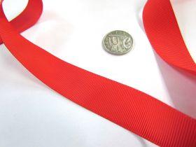 Grosgrain Ribbon 22mm- Red