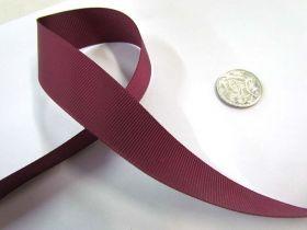 Grosgrain Ribbon 22mm- Burgundy