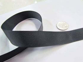 Grosgrain Ribbon 22mm- Charcoal