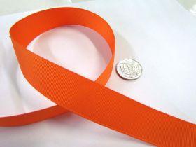 Grosgrain Ribbon 22mm- Orange