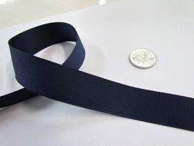 Grosgrain Ribbon 22mm- Navy