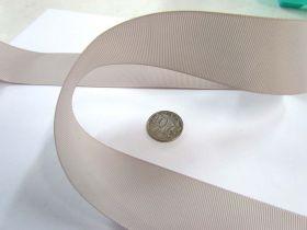 Grosgrain Ribbon 38mm- Stone