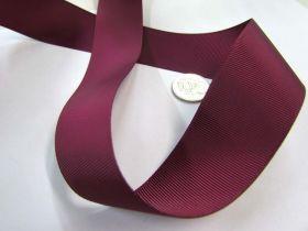 Grosgrain Ribbon 38mm- Burgundy
