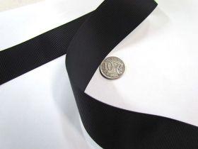 Grosgrain Ribbon 38mm- Black
