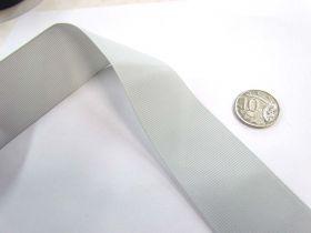Grosgrain Ribbon 38mm- Silver Grey