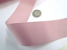 Grosgrain Ribbon 38mm- Cameo Pink