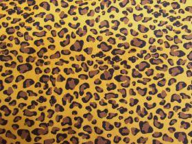 Leopard Spot Cotton- Golden #PW1238