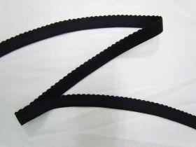 19mm Lingerie Elastic- Black