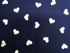 Sweet Heart Cotton- Navy #PW1249