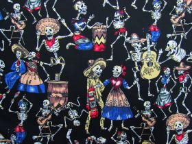 Day Of The Dead Cotton #PW1224