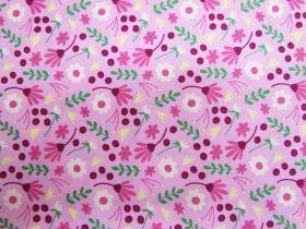 Homegrown Bouquet Cotton- Pink #PW1260
