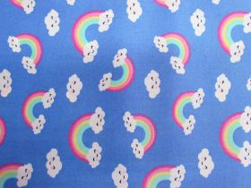 Happy Rainbow Cotton- Blue #PW1201