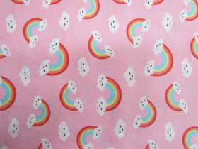 Happy Rainbow Cotton- Pink #PW1205