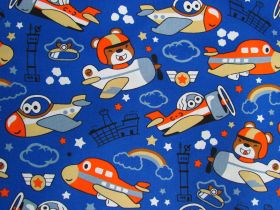 In The Bear-Force Cotton- Blue #PW1277