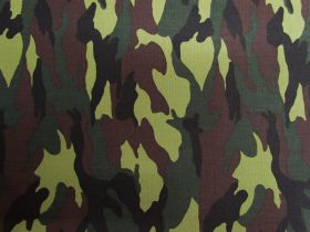 Camo Cotton- Forest Green #PW1269