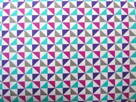 Cosmo Triangles- Purple