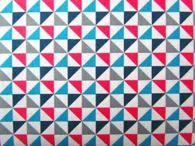 Cosmo Triangles- Blue