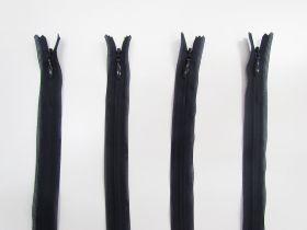 25cm Invisible Zip Bundle- 4 for $5- Navy TRW30