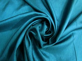Lightweight Crinkle Polyester- Jewel Teal #4989