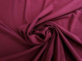 Soft Cotton Blend Jersey- Maroon #5015