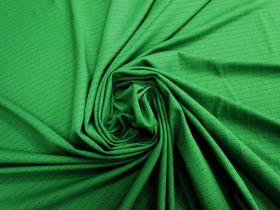 Sports Eyelet Spandex Jersey- Lush Green #5019