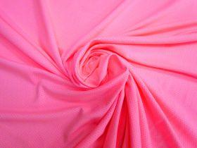 Sports Eyelet Spandex Jersey- Candy Pink #5021