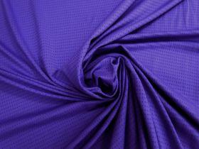 Sports Eyelet Spandex Jersey- Night Purple #5023