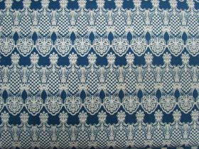 Forget Me Not Cotton- Navy Lace #3115