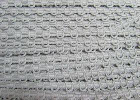 12mm Decorative Loop Trim- Silver Grey #488