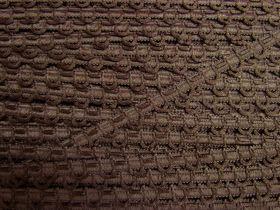12mm Decorative Loop Trim- Chocolate Brown #489