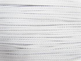 5.5mm Cotton Cord- White #493
