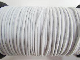 3mm Bungee Cord Elastic- White #499