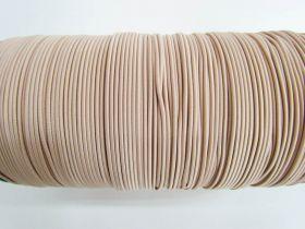 2mm Round Elastic- Nude #342