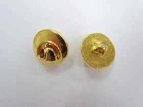 Gold Swirl Couture Buttons- CB208