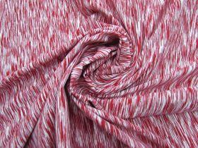 Raspberry Swirl Space Dyed Supplex Lycra®