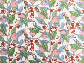 Liberty Cotton- Conservatory Fruits- Pink- The Summer House Collection