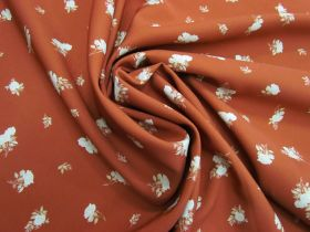 Afternoon Tea Rose Polyester- Rust #5081