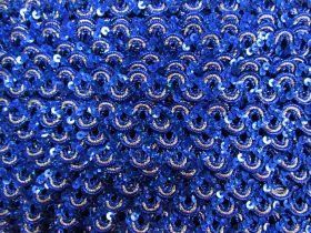 16mm Carnival Sequin Braid Trim- Royal