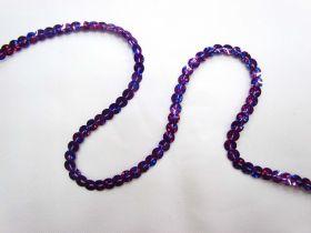 Slung Holographic Sequins- Purple