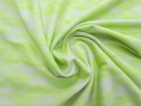 Jazzy Triangles Jersey- Lime #5092
