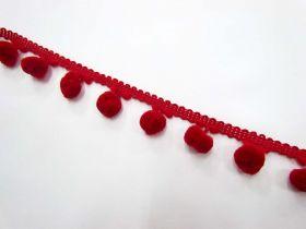 Large Pom Poms- Red